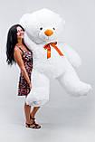 Великий ведмедик білий 200 см, фото 2