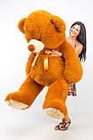 Великий плюшевий ведмідь, коричневий ведмедик 200 см, фото 2