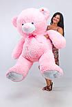Плюшевий Ведмедик 2 метри рожевий. Великий Плюшевий Ведмідь. Велика М'яка іграшка Плюшевий Ведмедик, фото 2