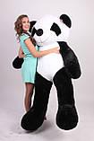 Плюшева панда 200 див. М'яка іграшка панда. Панда 200 см, фото 2