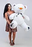 Плюшевий ведмедик білий (130 см), фото 3