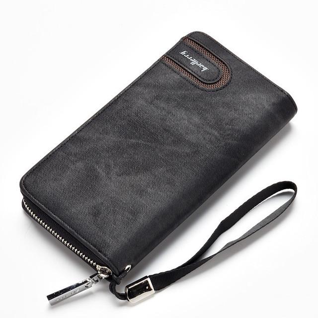 Мужской кошелек, портмоне Baellerry Мужской кошелек, портмоне BaellerryS1514 black черный