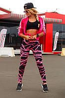 Спортивные лосины Лосины для танцев фитнеса спорта S, M, L, XL (44-46, 46-48, 48-50, 50-52)