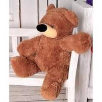 Плюшевый Медведь  Бублик 140 см Коричневый