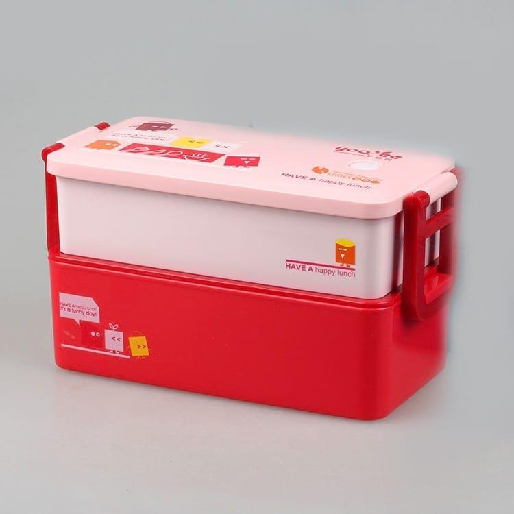 Ланч бокс YooYee Office Box красный (LB-1657)