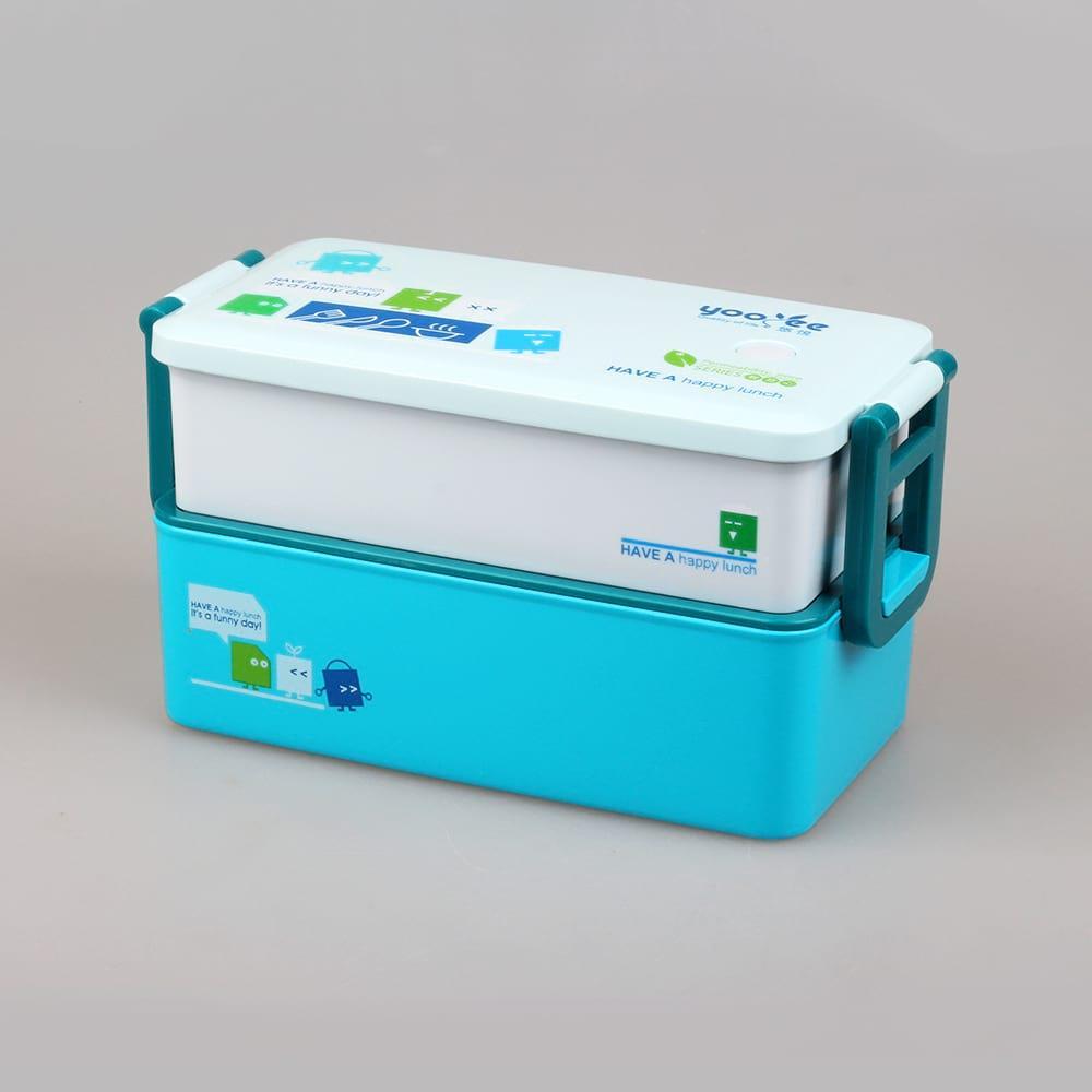 Ланч бокс YooYee Office Box синий (LB-1645)