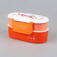 Ланч бокс YooYee Color Lunch оранжевый (LB-1638), фото 1