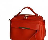 Лакшері жіноча сумочка-саквояж-портфель в 13-и кольорах. Червоний.