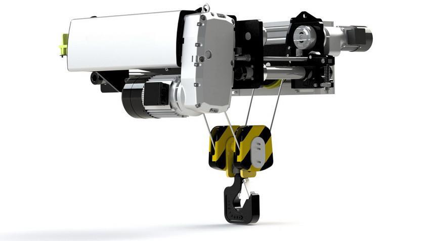 Тельфер компании Weihua WH5T-12M грузоподъемность 5т, высота 12м