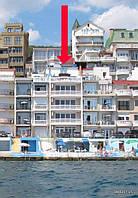 Дом эллинг в Крыму, 1-линия от моря, свой пляж.