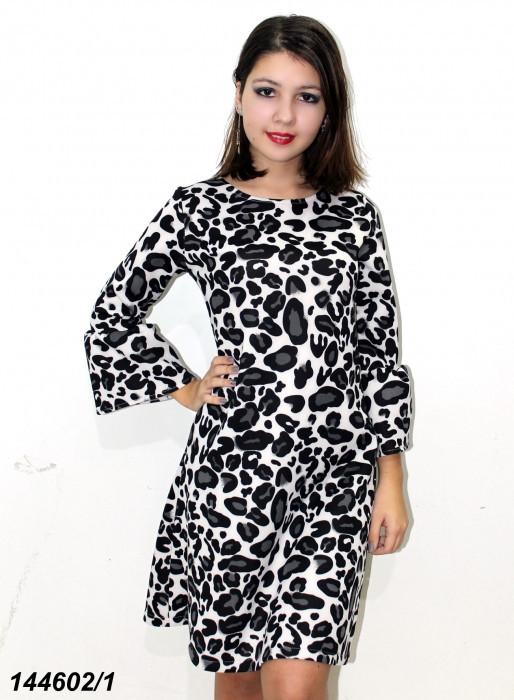 Платье неопреновое,новинка,леопардовое 2019 - 42,44,46,48 размер