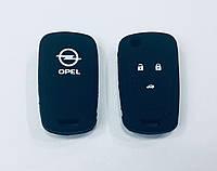 Силиконовый чехол на выкидной ключ Opel 3 кнопки