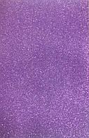 Фоамиран темно-фиолетовый с глиттером самоклеющийся  Josef Otten 2,0 мм