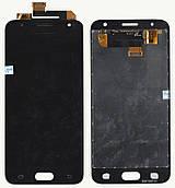 Дисплей + сенсор Samsung G570 J5 Prime Чорний , з регулюванням яскравості