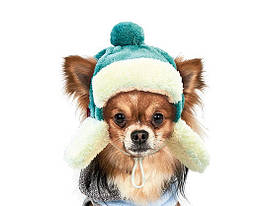 Шапка зимняя Pet Fashion Ушанка для собак S