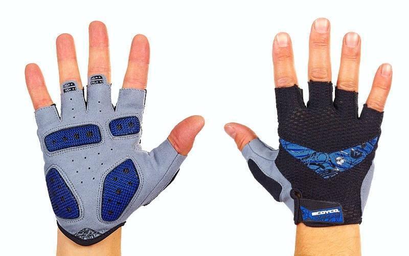 Велоперчатки с открытыми пальцами SCOYCO ВG13