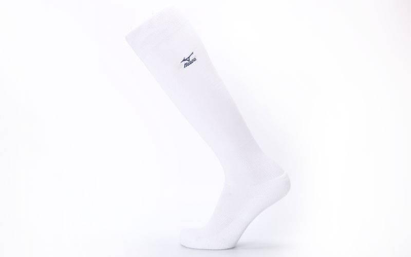 Гетры футбольные взрослые ,белые MIZUNO 95627-G (реплика) W