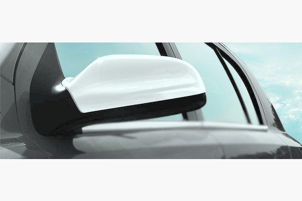 Накладки на зеркала (2 шт) Opel Astra H 2004-2013 гг.