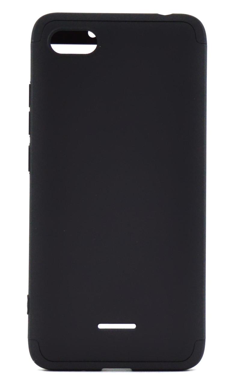 Чохол-360° GKK LikGus для  Xiaomi Redmi 6A Пластик Чорний