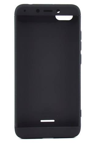 Чохол-360° GKK LikGus для  Xiaomi Redmi 6A Пластик Чорний, фото 2