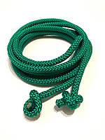 Гимнастическая скакалка диаметр 10 мм. зеленая 3 метр., фото 1