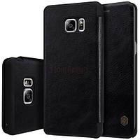 Кожаный чехол (книжка) Nillkin Qin Series для Samsung N935 Galaxy Note Fan Edition