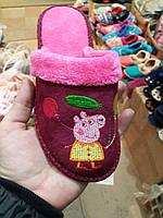 Тапочки для девочки, свинка Пеппа, Белста