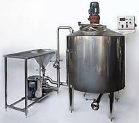 Линия по производству сгущеного молока из сухого молока