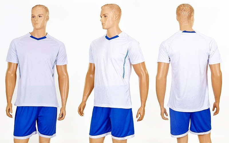 Футбольная форма подростковая Grapple CO-7055B-W (реплика)