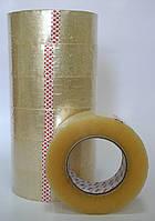 Скотч упаковочный, ширина 45мм, намотка 1000м. В упаковке 6 шт.