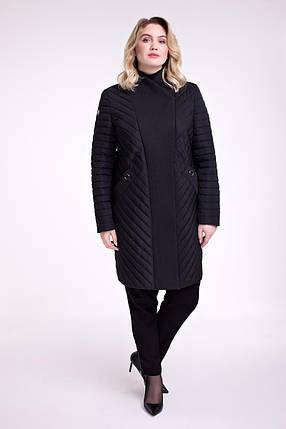 Женское демисезонное пальто Размеры от 48 до 64, фото 2