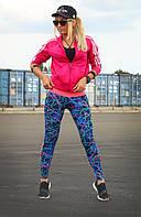 Спортивные лосины XL (50). Женские лосины для танцев, фитнеса, спорта, беговые.