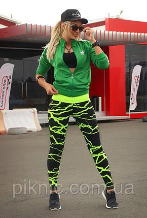 Спортивні лосини S, L, XL (44-46, 48-50, 50-52) Лосіни жіночі для фітнесу спорту тренувань, фото 2
