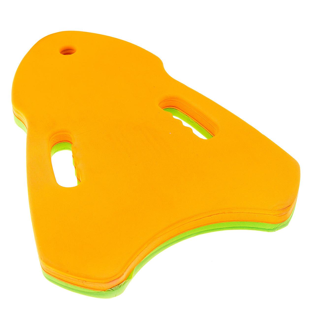Доска для плавания фигурная треугольник EVA В1009-2
