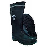 Шахтерские резиновые сапоги с металлическим носком