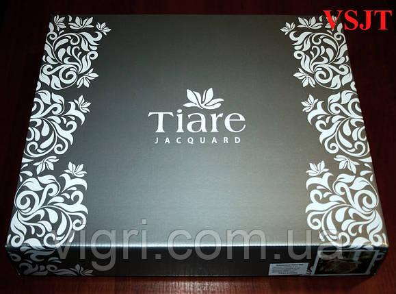Постельное белье семейное, сатин жаккард Tiare Вилюта. VSJT 1805, фото 2
