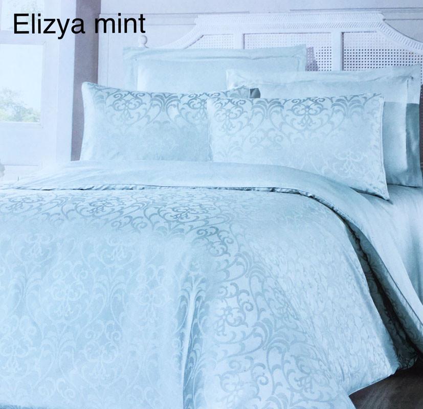 Постельное белье сатин жаккард Altinbasak (евро-размер) № Elizya Mint. В  наличии  Оптом и в розницу ... 27212ff24c51c