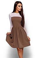 (M / 44-46) Жіноче темно-бежеве коктейльне плаття Arizon