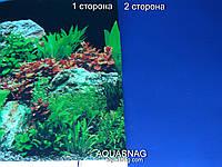 Фон плотный двухсторонний, высота 50cм(9071-синий), цена за 10см