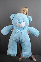 М'яка іграшка ведмедик Веніамін 130 см, блакитний