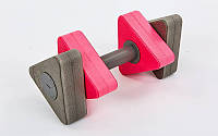 Гантели для аквааэробики треугольные 1шт MadWave Triangle Bar Float M082601
