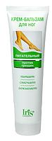 Крем-бальзам для ног питательный против трещин 100 мл Iris Ir-0317