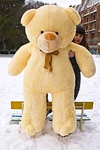 М'яка іграшка ведмедик Веніамін 200 см, крем
