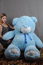 М'яка іграшка ведмедик Веніамін 200 см, блакитний