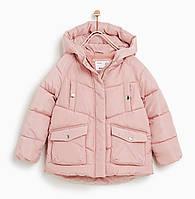 Детская куртка деми для девочки ZARA Испания Размер 140