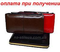 Жіночий шкіряний гаманець клатч сумка гаманець шкіряний Baellerry, фото 1