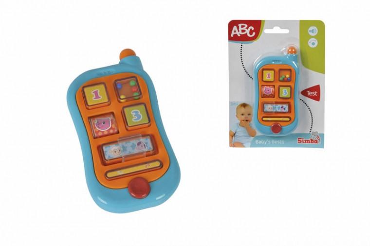Развивающий телефон Simba 20 х 15 см (4015349)