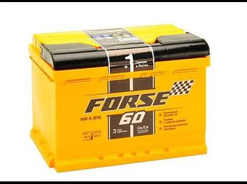 Аккумулятор Forse 60AH 600A Westa R (Правый+ Евро)