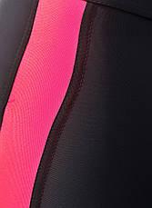 Спортивные лосины 50-52 Лосины для танцев фитнеса спорта тренировок беговые Розовый, фото 3