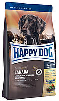 Happy Dog Supreme Canada - сухой корм для активных собак с лососем (без глютена) 4 кг